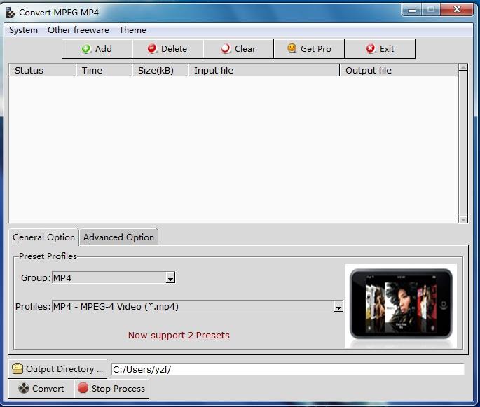 Convert MPEG MP4 2.0.1 full