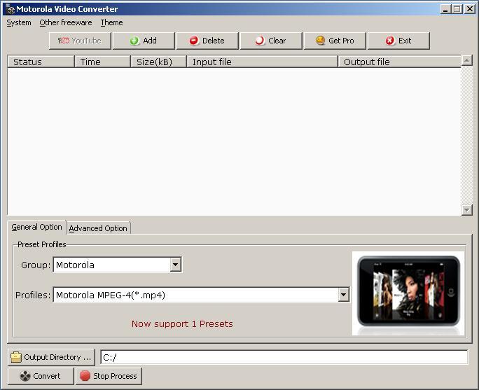Video Converter for Motorola