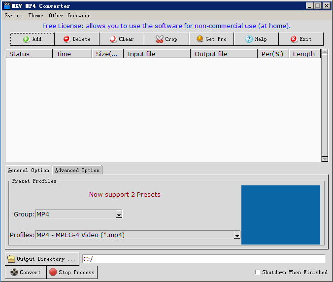 MKV MP4 Converter 3.0.1 full